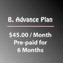 B. Advance Plan (Billed @ $45/Mo for 6 Mo)