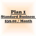 Plan 1-Standard Business (Billed @ $39/Mo for 12 Month